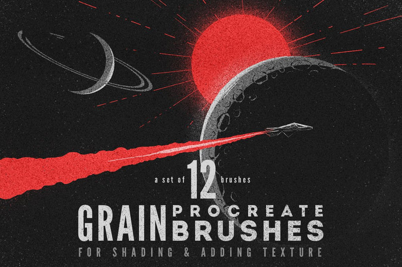 Grain Procreate Brushes