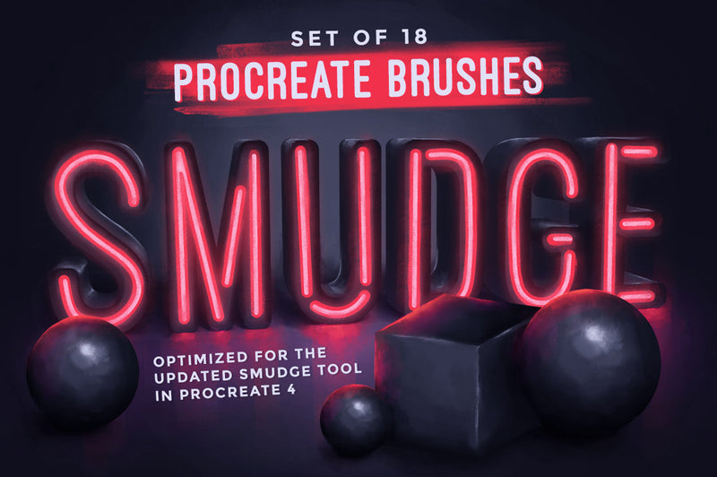 Smudge Procreate Brushes