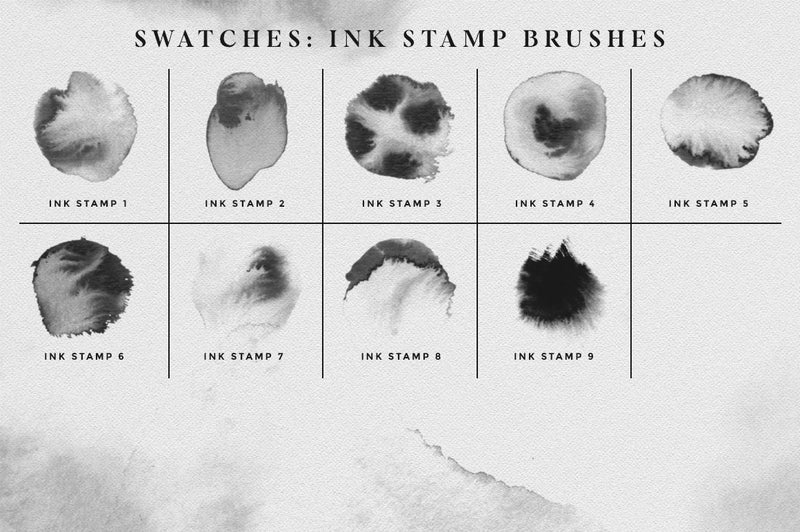 Affinity Ink Brushes