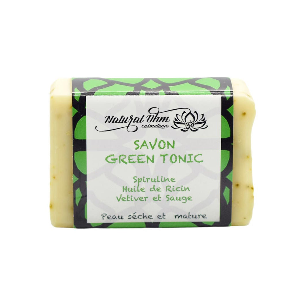 savon naturel green tonic zero dechet
