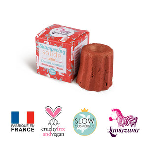 Shampoing solide Orange Cannelle - Cheveux normaux