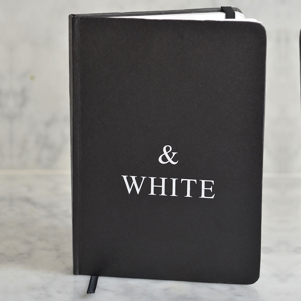 A5 Hardcover black notebook