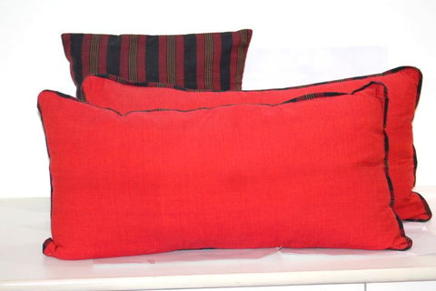 Plain Handloom Cushion covers