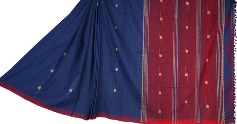 Black and red mekhela chadar