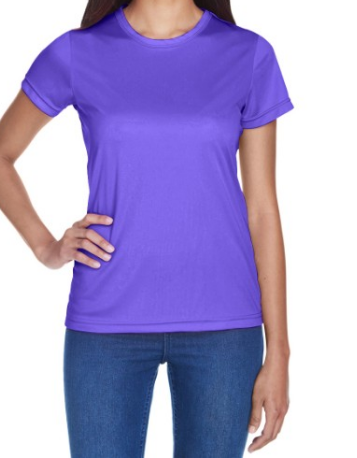 UltraClub 8420L Womens Cool & Dry Sport Performance Interlock T-Shirt