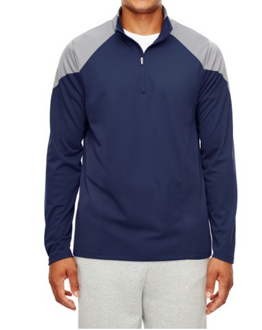 Team 365 TT27 Men's Command Colorblock Snag Protection Quarter-Zip