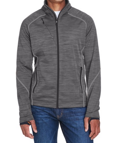 Ash City - North End 88697 Men's Flux Melange Bonded Fleece Jacket