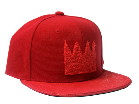 "The Ron Bass ""KINGING"" Red All Over Snapback"