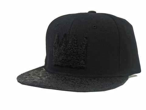 "The Ron Bass ""KINGING"" Black Out Snapback"