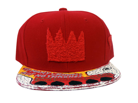 "The Ron Bass ""KINGING"" SnapCap (Red)"