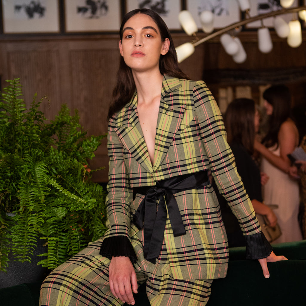 Deborah Lyons Women's Spring Summer 2020 Collection_Custom-Made Check