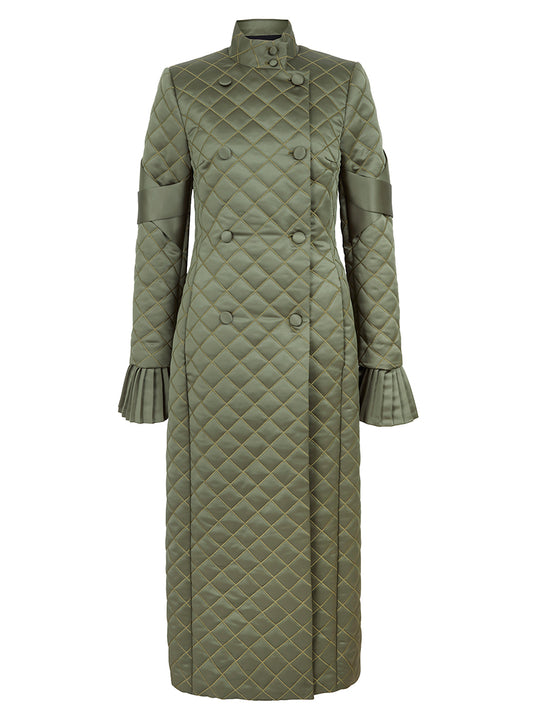 Quilted Zephyr Coat