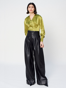 Deborah Lyons Iliana Leather Trousers_1
