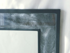 Black Silver Wall Mirror - Reflexim