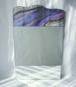 Purple Geode Wall Mirror - Reflexim