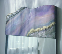 Load image into Gallery viewer, Purple Geode Wall Mirror - Reflexim