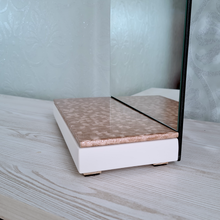 Load image into Gallery viewer, Gold Bedside Mirror - Reflexim