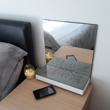 Load image into Gallery viewer, Green Bedside Mirror - Reflexim