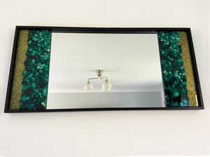 Green & Gold Wall Mirror - Reflexim