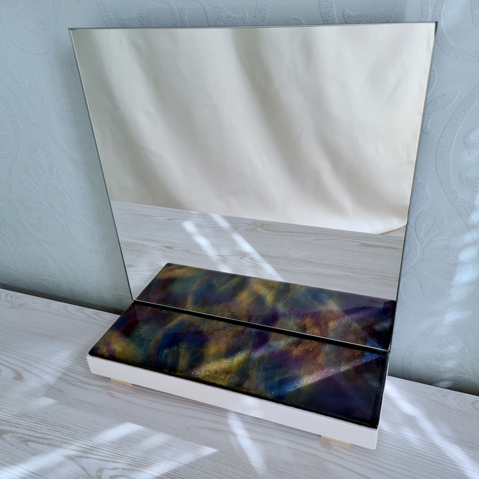 Nebula Resin Art Mirror - Reflexim