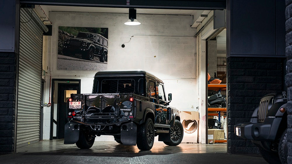 In Build: Chelsea Truck Company Defender Pick Up Truck