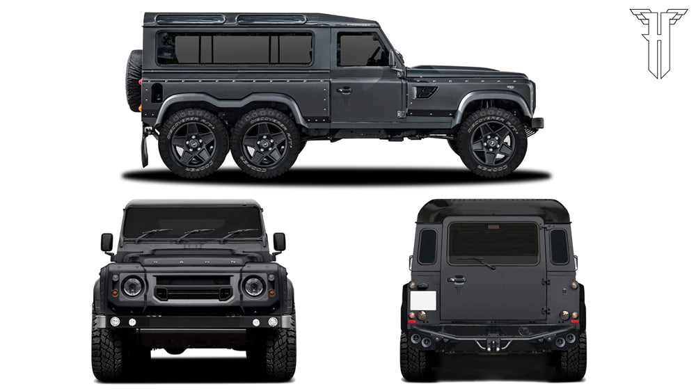 Kahn Design Coachbuilt Land Rover Defender Concept to be unveiled at the Geneva Motor Show 2015