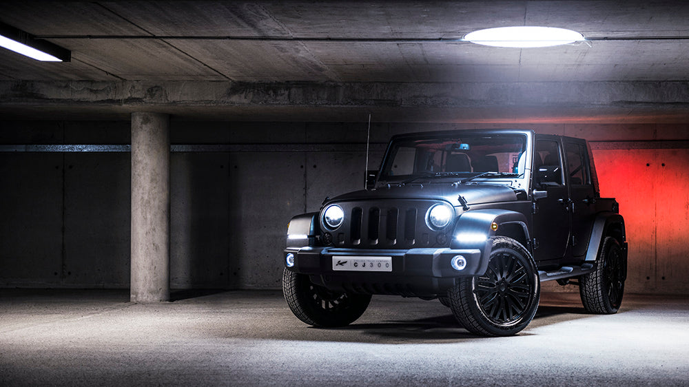 Four Reasons Why The CJ300 Jeep Exudes Cool