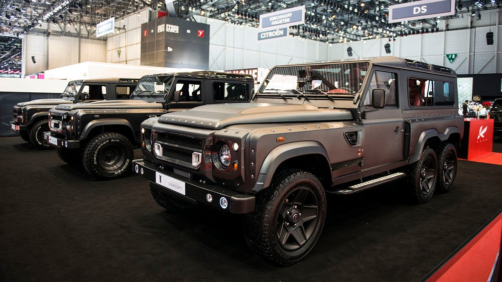 Is The Flying Huntsman 110 WB 6X6 Concept The King Of Defenders?