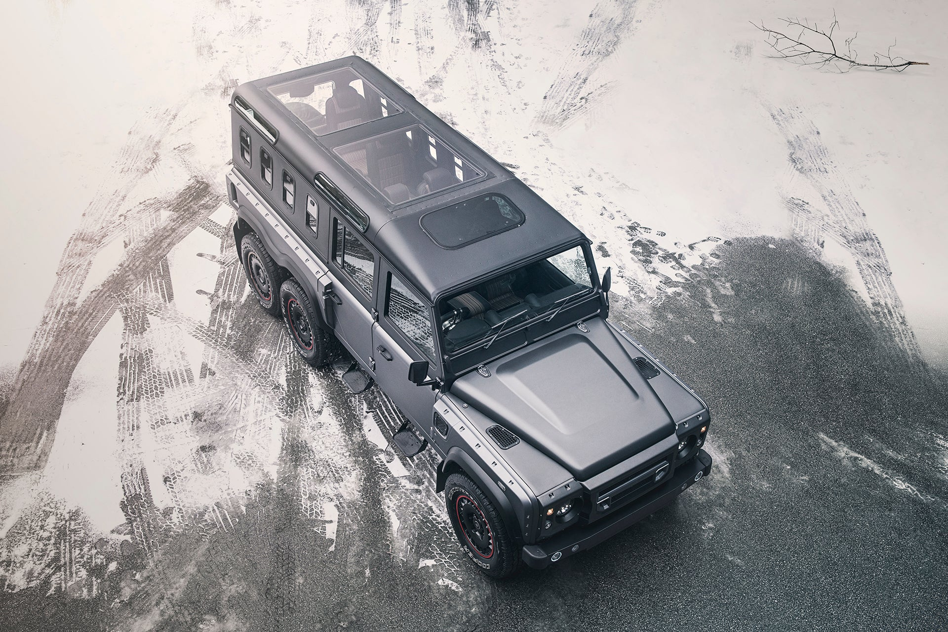 Chelsea Truck Company Civillian 6x6 and Black Hawk Edition Showcased At Geneva