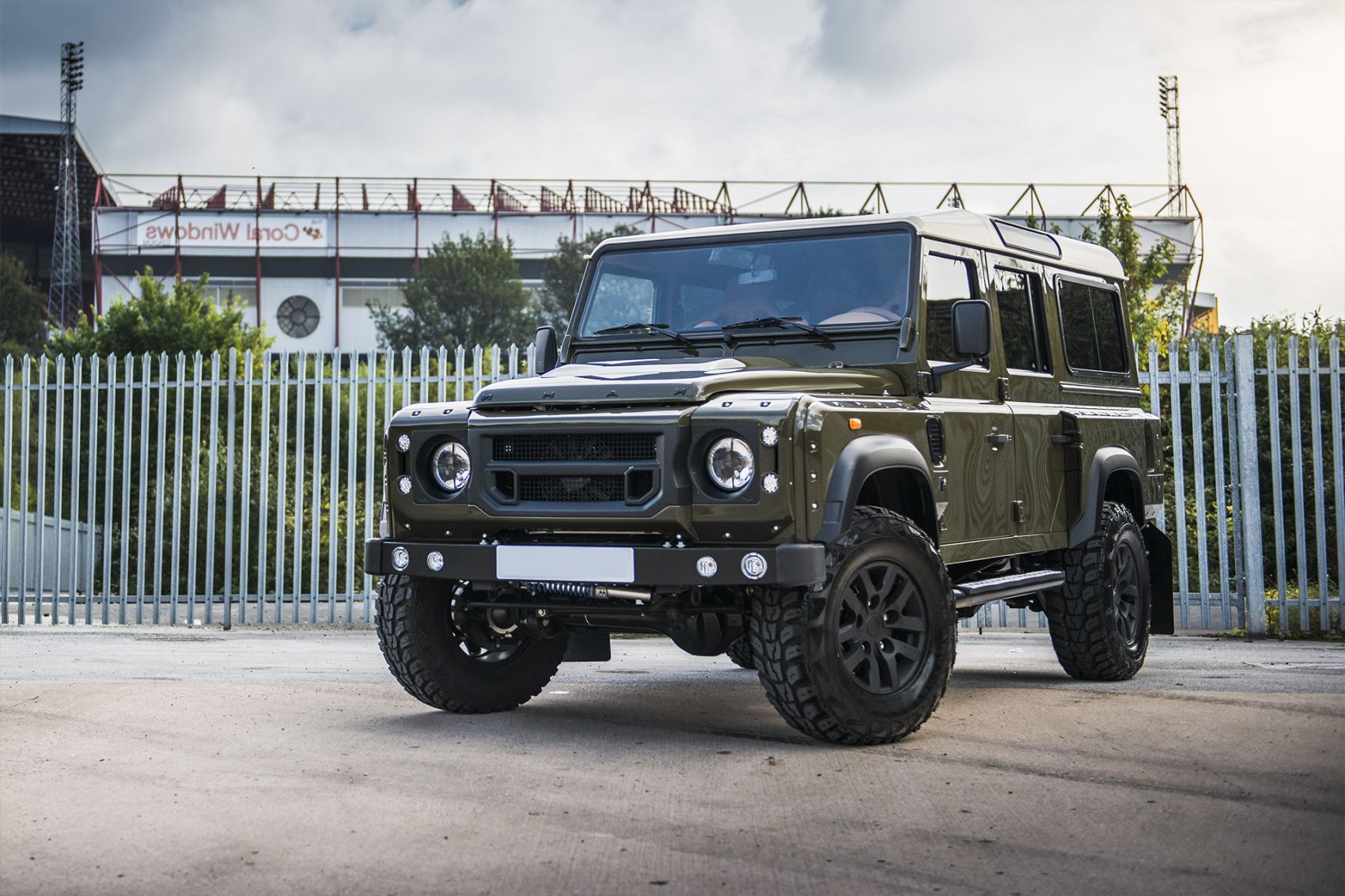 The Art of Extensive Land Rover Defender Conversion
