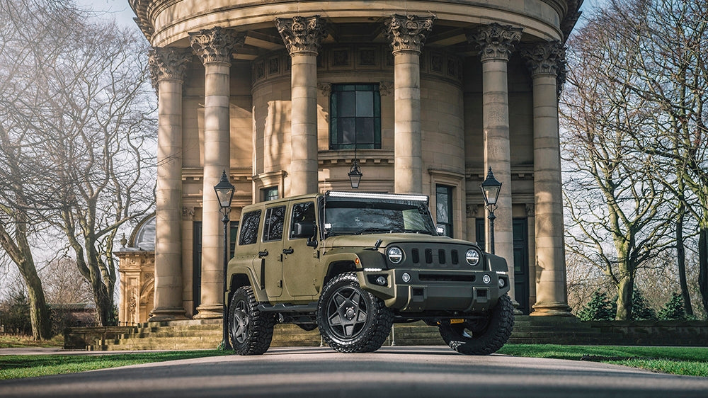 View From The Press: Luxury Jeep Off-Roader