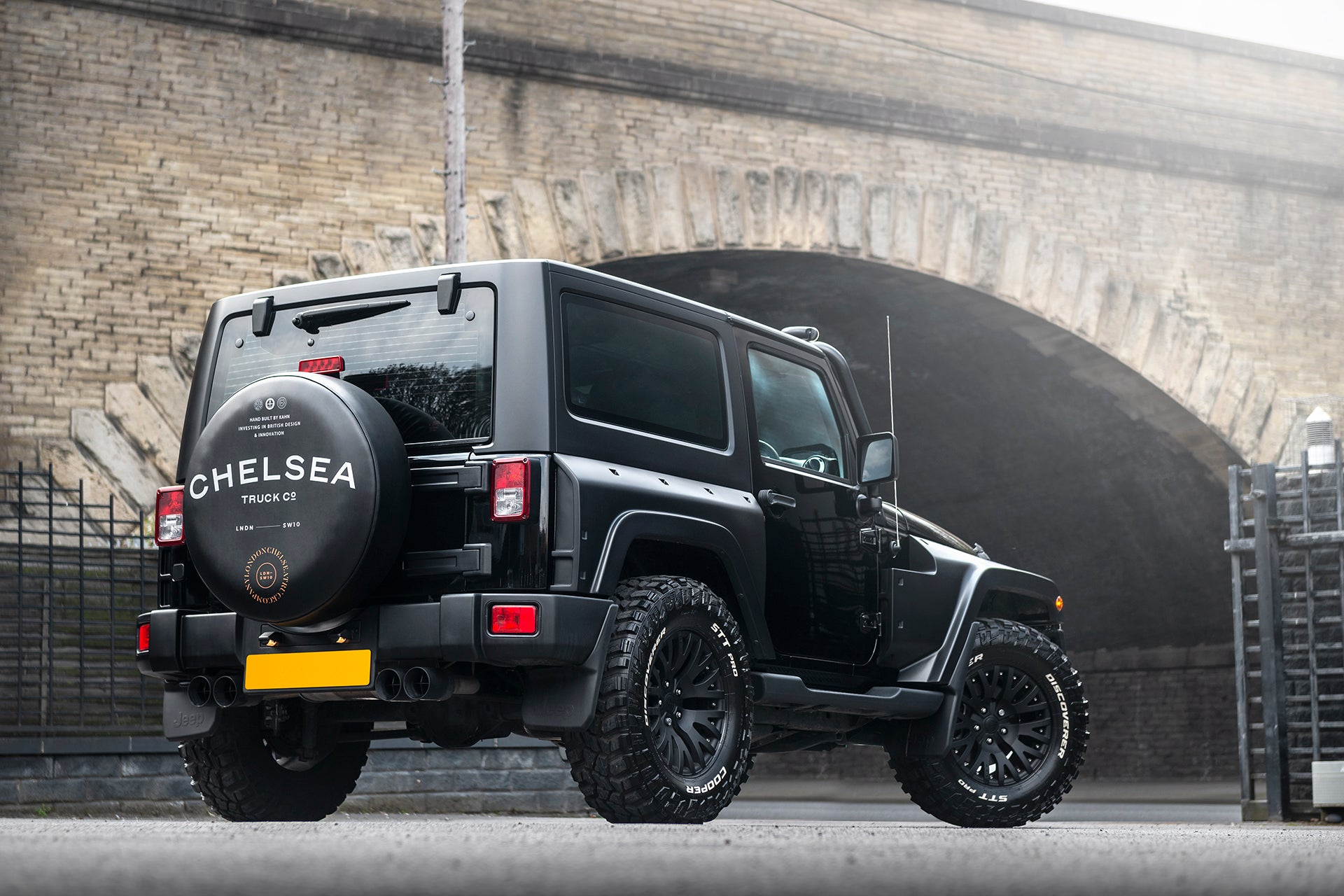 Jeep Wrangler Black Hawk