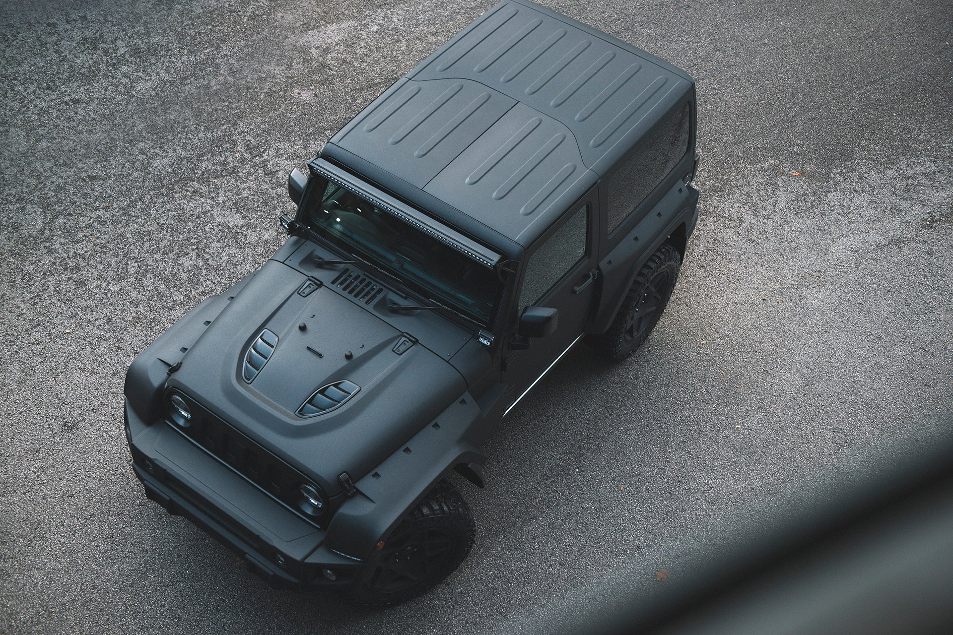 Jeep Wrangler Black Hawk Expedition