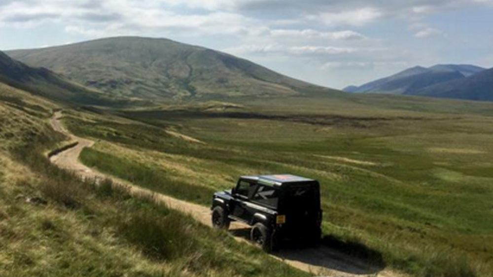 Drive Off-Road With A Chelsea Truck Company Defender Wide Track