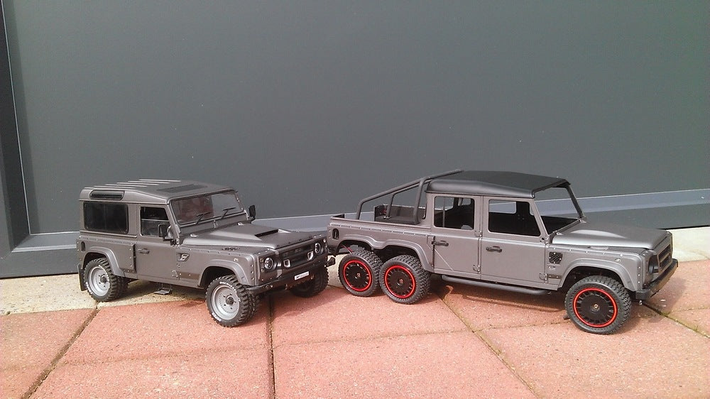 Model Update: Flying Huntsman 110 6x6 Double Cab Pickup