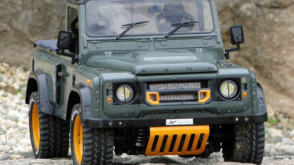 Travelling Around Europe With The Keswick Green Land Rover Defender Chelsea Wide Track Model