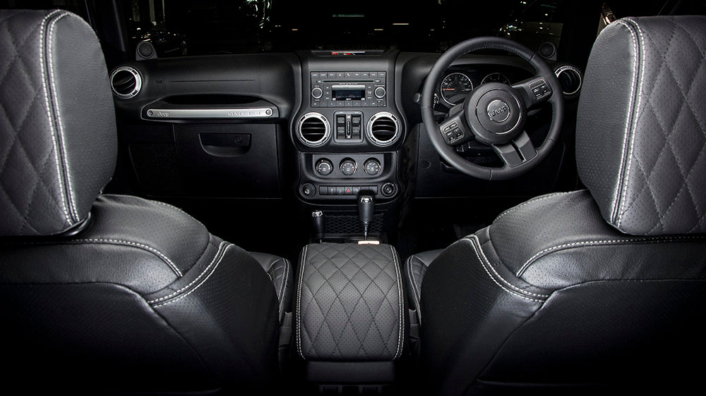 The Ideal Jeep Interior