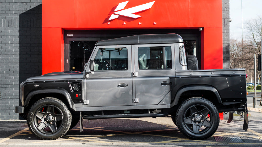 View From The Press: LAND ROVER DEFENDER 110 PICK UP CHELSEA WIDE TRACK