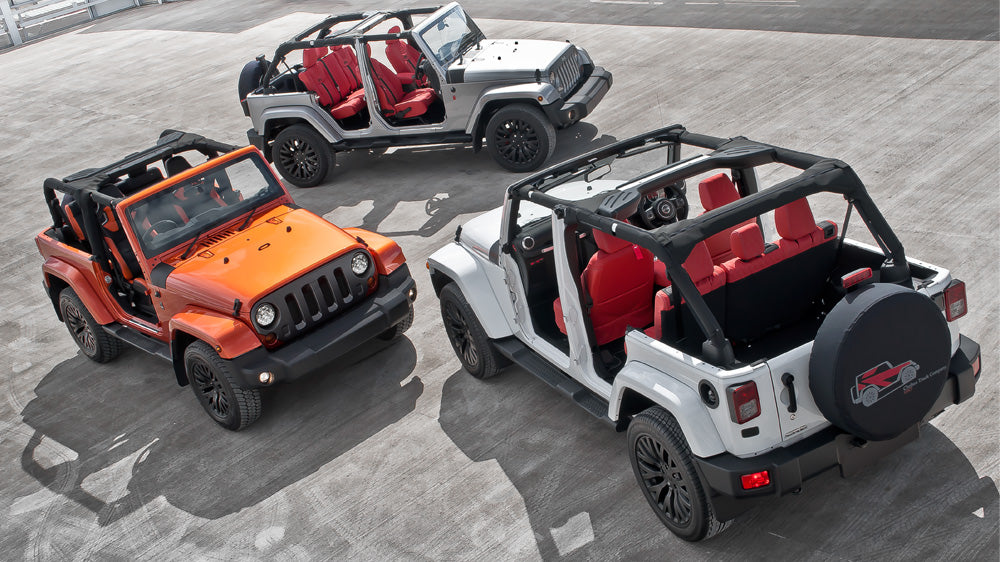 Special for the summer: the Chelsea Jeep CJ300  by A Kahn Design