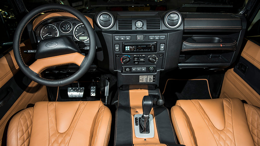 Create your own Kahn Defender interior
