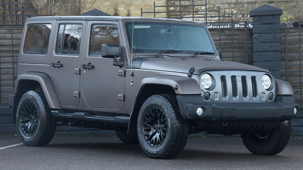 Introducing: Jeep Wrangler Sahara 2.8 - Chelsea Truck Company CJ300 LE