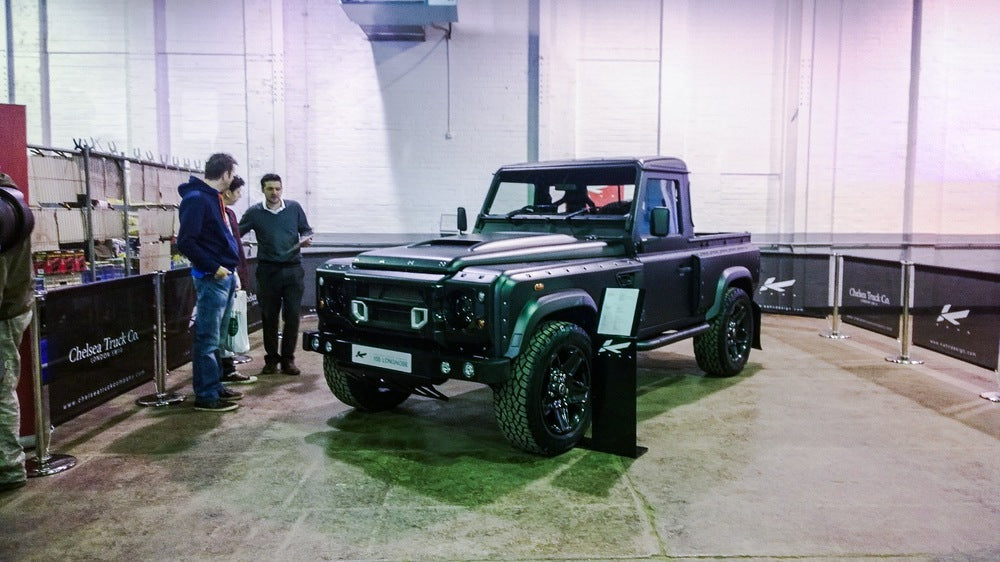 Flying Huntsman 105 Pick Up Revealed At The Great British Land Rover Show
