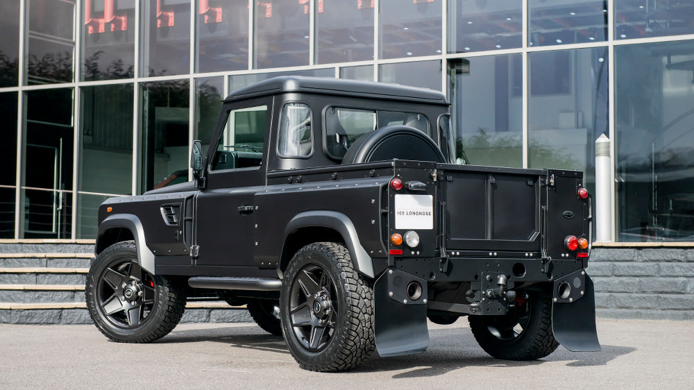 Flying Huntsman 105 Defender Pick Up Prototype Unveiled