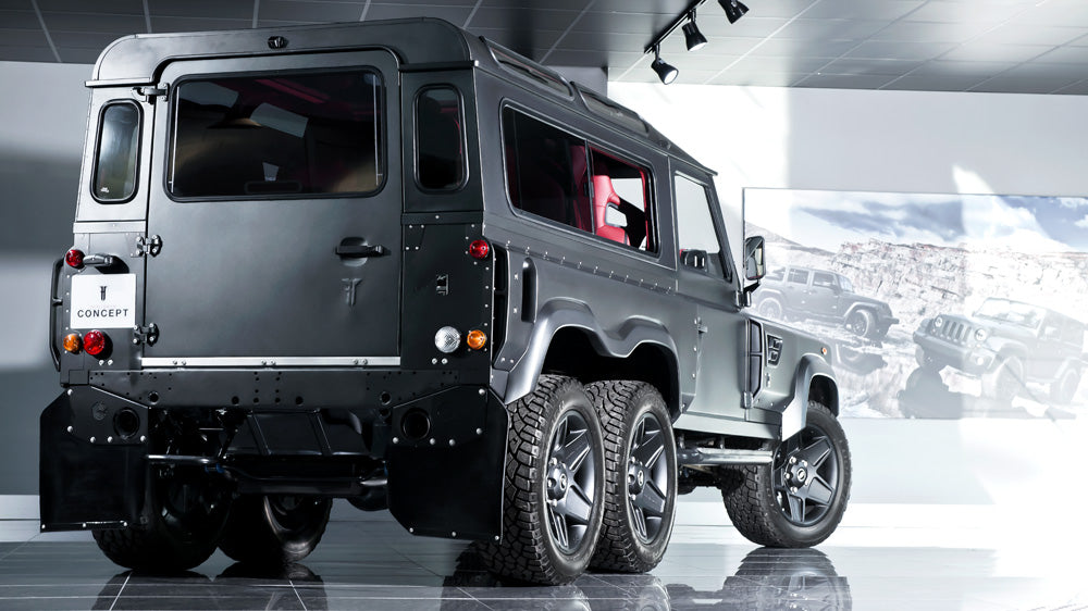 View From The Press:  You Can Now Buy Kahn's 6x6 Flying Huntsman For Half The Price Of A G63 AMG