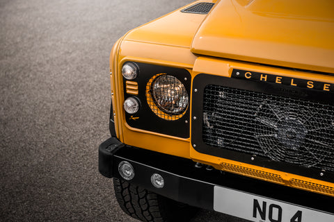 Shop Online: Land Rover Defender Military Front Grille With Stainless Steel Mesh
