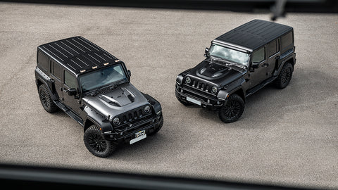 Chelsea Truck Company CJ300 Jeep Expedition Black Hawk Models