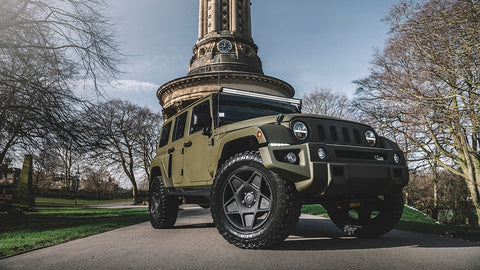 Jeep Wrangler Chelsea Truck Company Black Hawk Expedition Edition