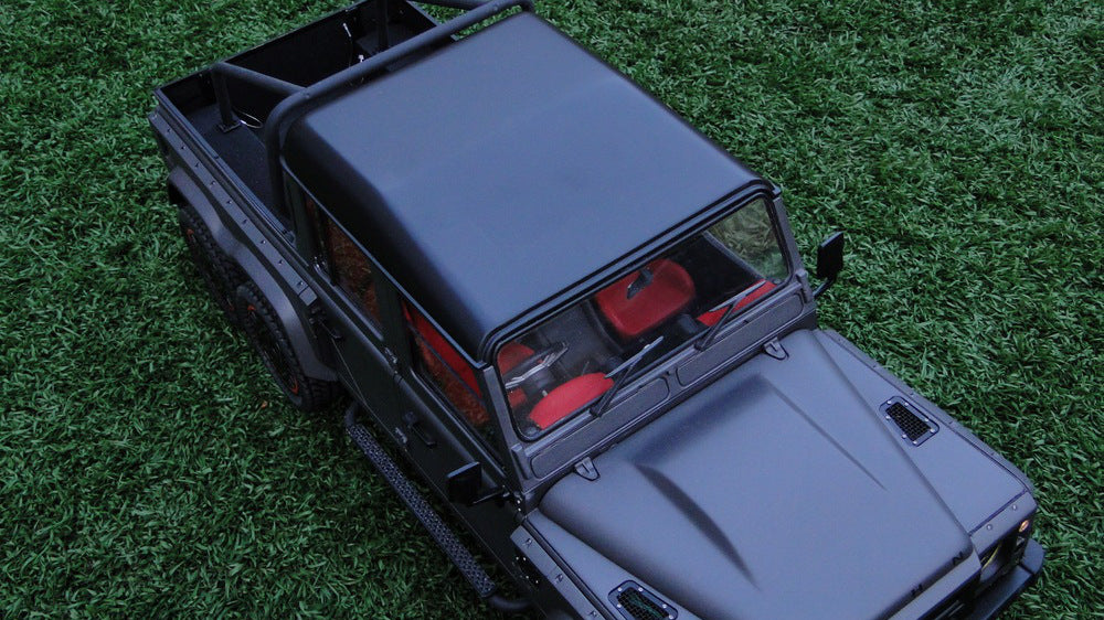 The Amazing Land Rover Defender Flying Huntsman 6X6 Model