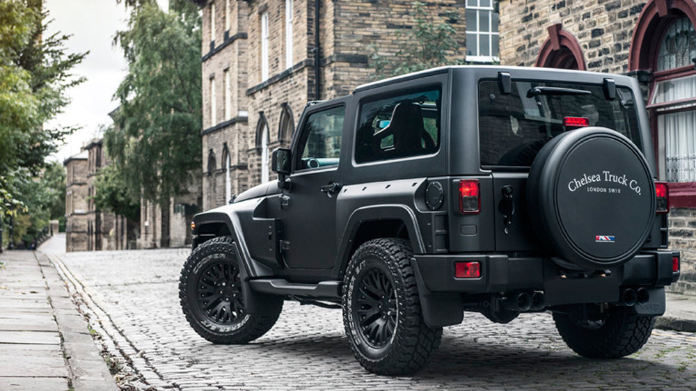 Unveiled: Chelsea Truck Company Jeep Wrangler Black Hawk Edition