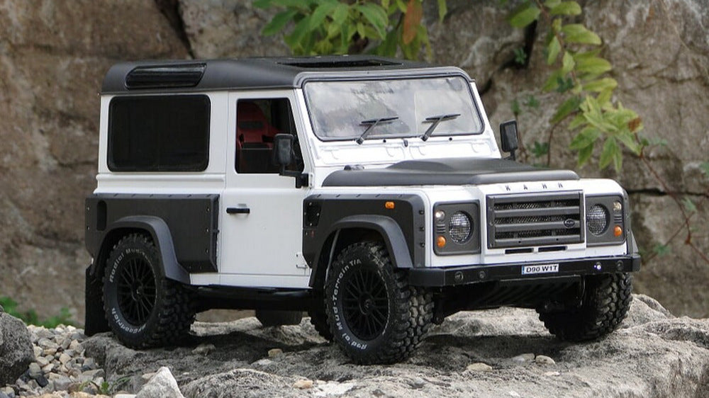 Travelling Around Europe With The Kahn Defender Chelsea Wide Track Model